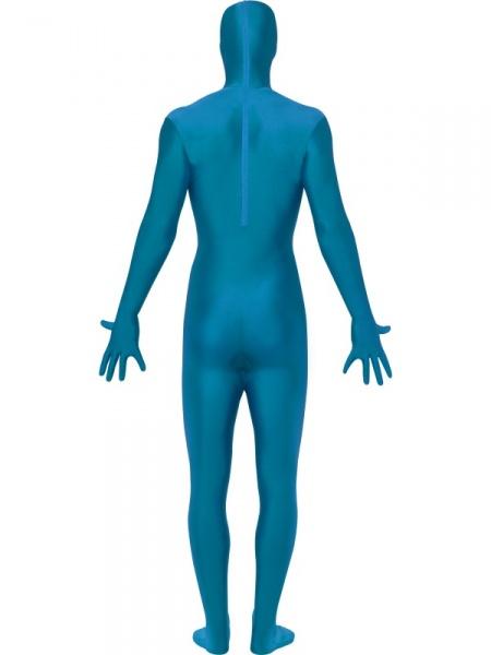 Blue Morphsuit Halloween Store Prague
