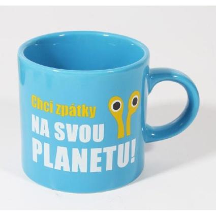 Cup Chci zpátky na svou planetu