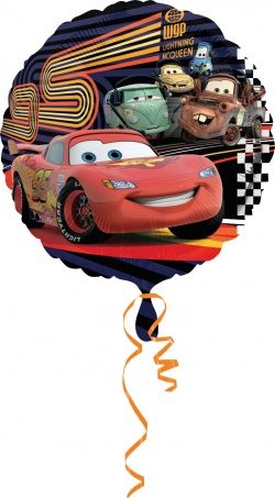 Standard Cars 2 Group Foil Balloon