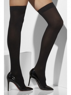 Black Opaque Hold-Ups