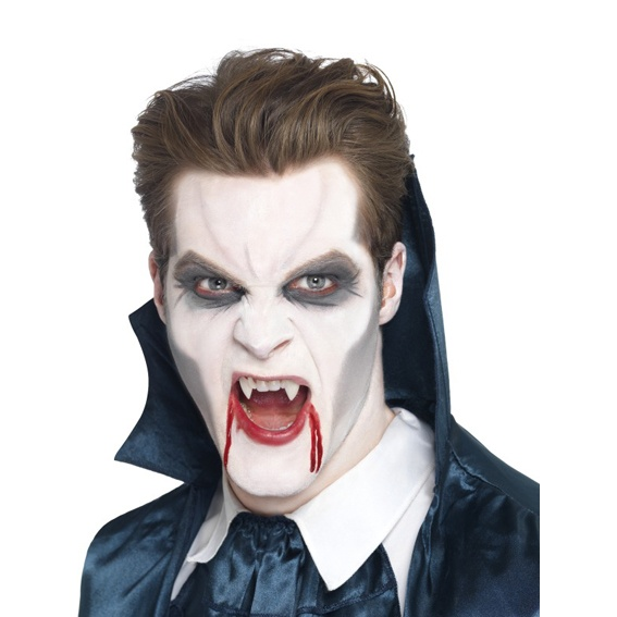 Halloween Makeup Store for this look id recommend actually getting the white halloween makeup from a store Vampire Make Up Halloween Store Prague